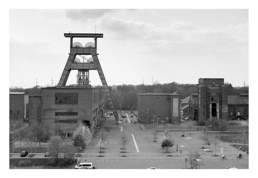 Zeche Ewald, Turm Schacht 7 und Malaokw-Turm