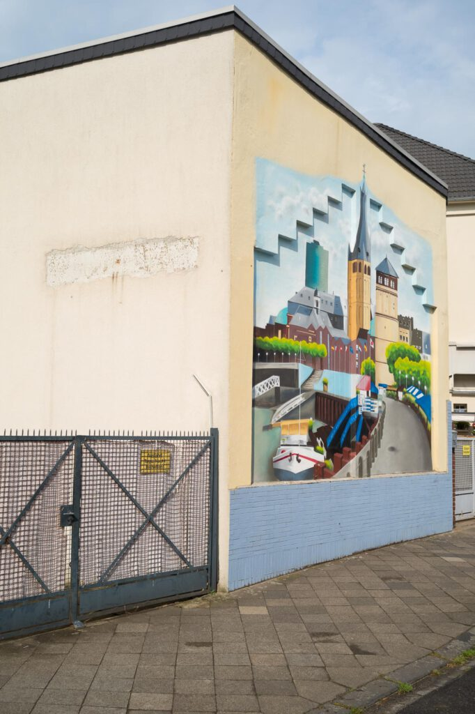 Wandbild Kampstraße